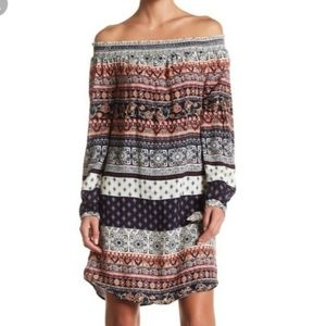 Beachlunchlounge Bohemian Off The Shoulder Dress